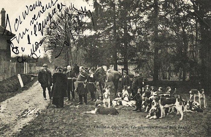 Equipage de Bonnelles Rambouillet - Don à la Société de Vènerie