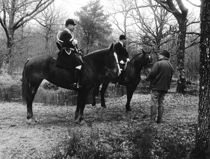 30 mars 1968 - Jacques Durand - Photo de Georges Hallo - Don de M. J.-G. Hallo à la Société de Vènerie