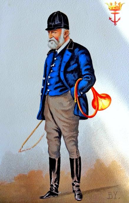 Le prince de Joinville - Don de A.-P. Baudesson à la Société de Vènerie