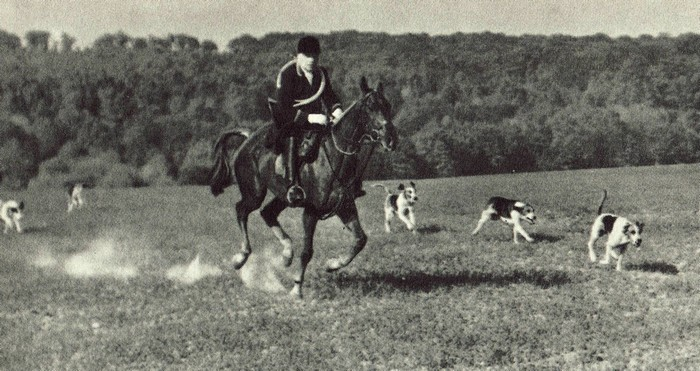 Photos par les frères Bouchery - Don de M. A.-P. Baudesson à la Société de Vènerie