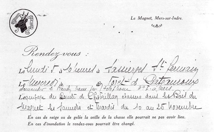 Equipage Boischaut Crie Haut - Tiré de l'ouvrage Deux Siècles de Vènerie à travers la France - H. Tremblot de la Croix et B. Tollu (1988) - 2