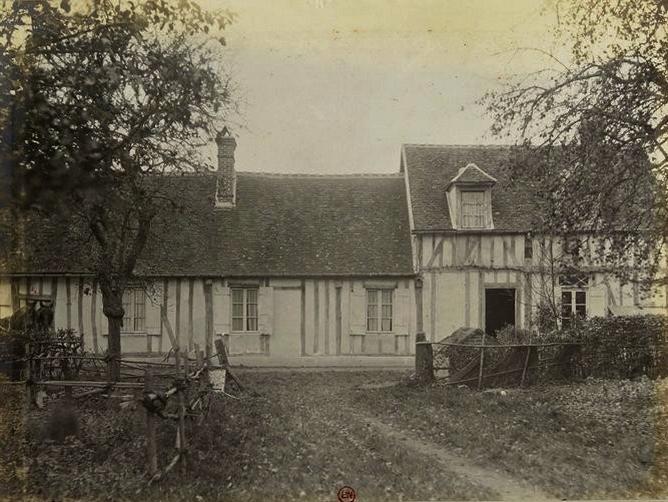 La Loge des Baux - Tiré de l'ouvrage L'Equipage du marquis de Chambray - Photos de Maurice de Gasté (1894) - Bnf (Gallica)