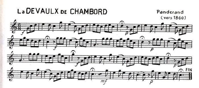 La Devaulx de Chambord