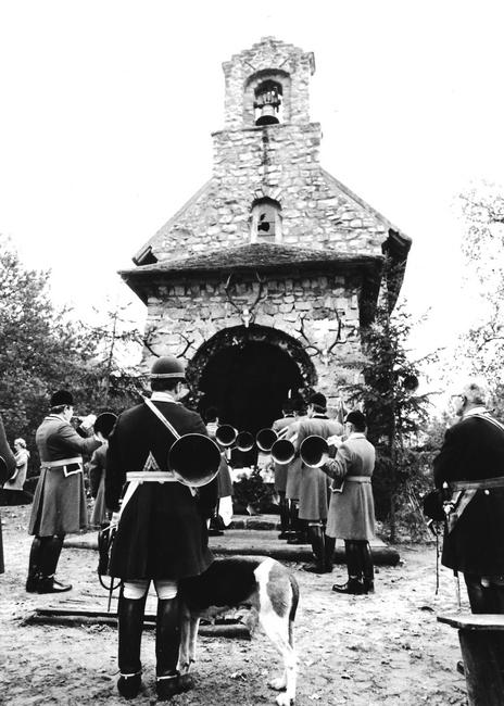 5 novembre 1977 - Saint-Hubert - Photo de Georges Hallo - Don de M. J.-G. Hallo à la Société de Vènerie