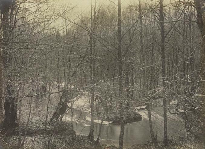 La Briante - Tiré de l'ouvrage L'Equipage du marquis de Chambray - Photos de Maurice de Gasté (1894) - Bnf (Gallica)