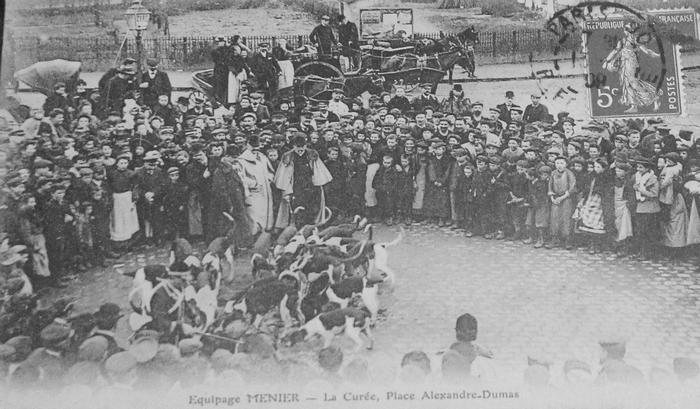 L'Equipage Menier - Collection A.-P. Baudesson - Don à la Société de Vènerie - 452