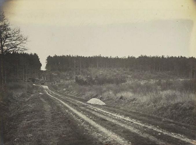 La Butte aux Loups - Tiré de l'ouvrage L'Equipage du marquis de Chambray - Photos de Maurice de Gasté (1894) - Bnf (Gallica)