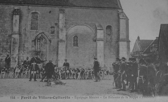 L'Equipage Menier - Collection A.-P. Baudesson - Don à la Société de Vènerie - 509