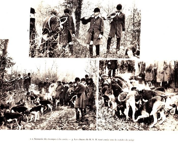 Dans le Cher en mars (1925) - Rallie Saint-Hubert, Equipage Beauchamps, Equipage de Chandaire - Don à la Société de Vènerie (2)
