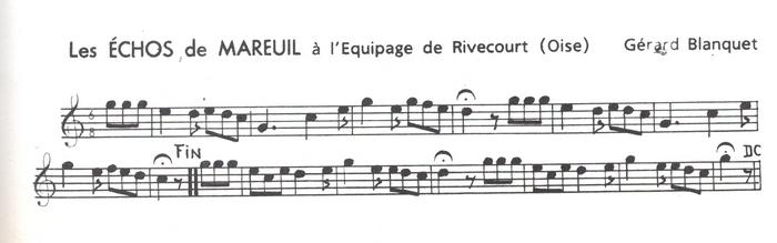 Les Echos de Mareuil ♫
