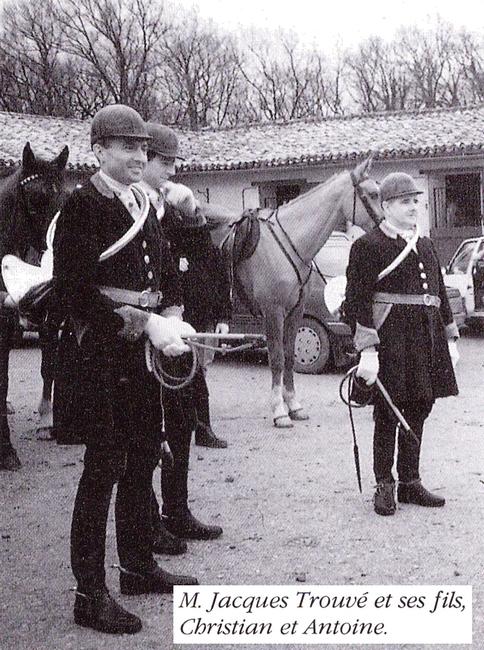 Equipage du Haut Poitou (1) - Tiré de l'ouvrage Deux Siècles de Vènerie à travers la France - H. Tremblot de la Croix et B. Tollu (1988)