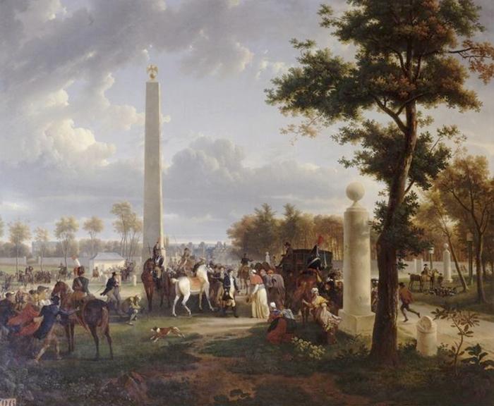 Entrevue du pape et de l'Empereur en novembre 1804 - Société de Vènerie