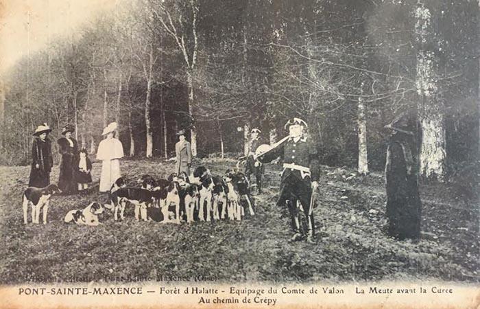 Carte postale (1900-1914) - Equipage Par Monts et Vallons