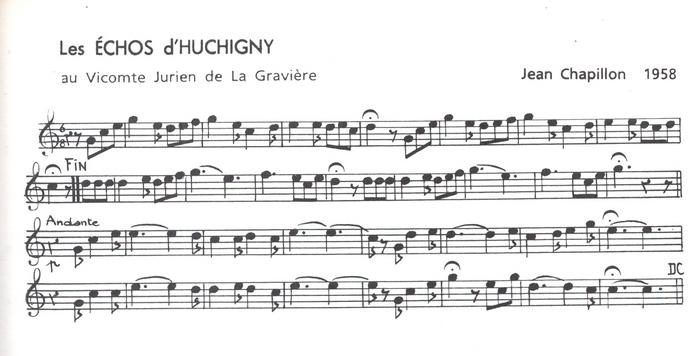 Les Echos d'Huchigny