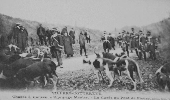 L'Equipage Menier - Collection A.-P. Baudesson - Don à la Société de Vènerie - 524