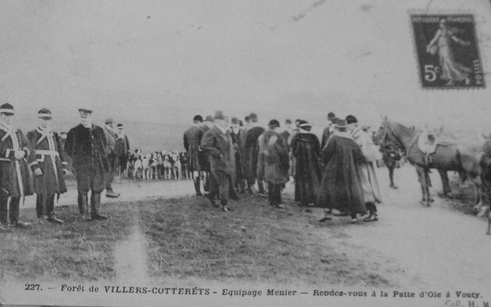 L'Equipage Menier - Collection A.-P. Baudesson - Don à la Société de Vènerie - 97