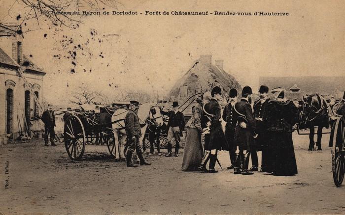 © Collection Claude Alphonse Leduc - Château de Montpoupon - Dorlodot