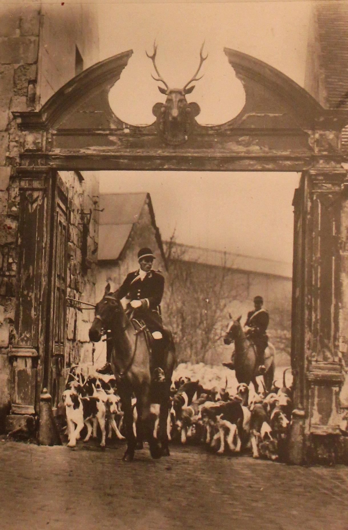 L'Equipage Menier - Collection A.-P. Baudesson - Don à la Société de Vènerie - 493