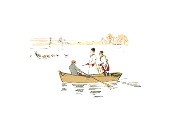 Illustration de Philippe Roque tirée de de l'ouvrage L'Equipage du Francport paru en 1910 - Société de Vènerie (8)
