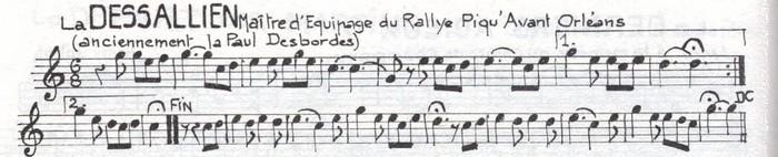 La Dessallien ou La Piqu'Avant Orléans ou La Paul Desbordes (2) ♫