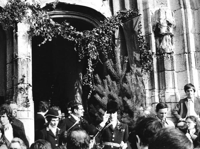 11 mars 1973 - Saint-Hubert - Photo de Georges Hallo - Don de M. J.-G. Hallo à la Société de Vènerie