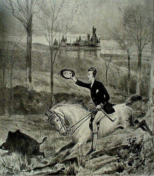 Le Grand Duc Nicolas de Russie - Don de M. P.-A. Baudesson