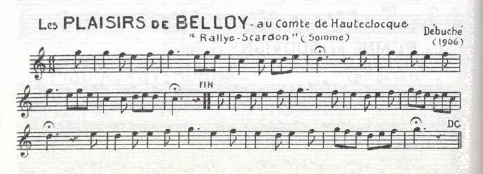 Les Plaisirs de Belloy