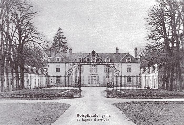 Boisgibault - Tiré de l'ouvrage Deux Siècles de Vènerie à travers la France - H. Tremblot de la Croix et B. Tollu (1988)