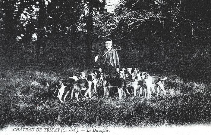 Equipage de Buffetizon puis Rallye Belenfant -Tiré de l'ouvrage Deux Siècles de Vènerie à travers la France - H. Tremblot de la Croix et B. Tollu (198