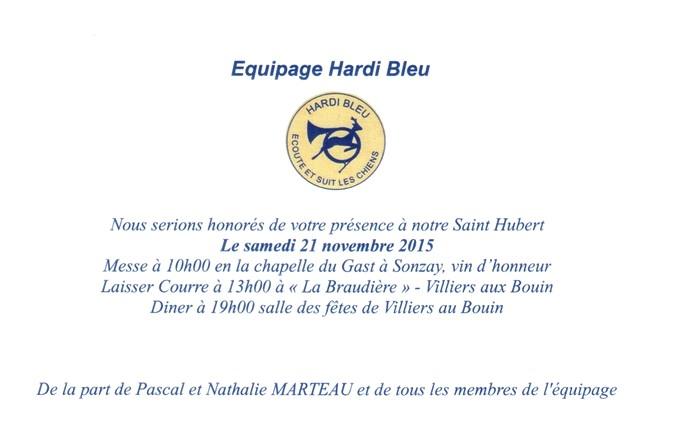 Hardi Bleu - Archives du château de Montpoupon