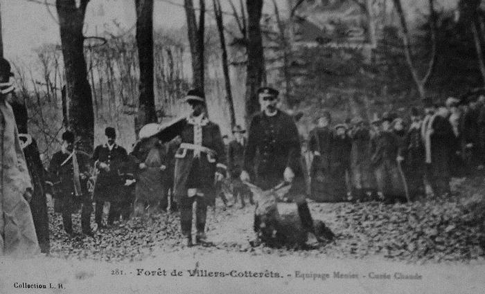 L'Equipage Menier - Collection A.-P. Baudesson - Don à la Société de Vènerie - 444