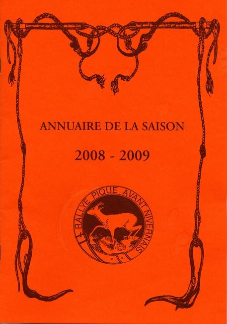 Tirée du livre Laissons-les faire - Rallye Pique Avant Nivernais - Rallye Ardillières (2009)