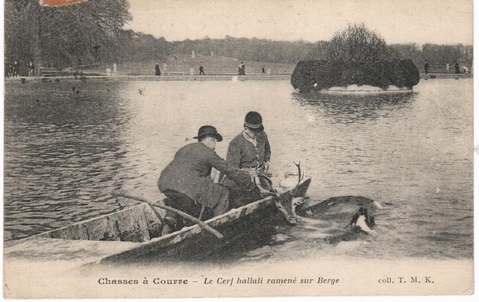 Chantilly - © Collection Claude Alphonse Leduc - Château de Montpoupon