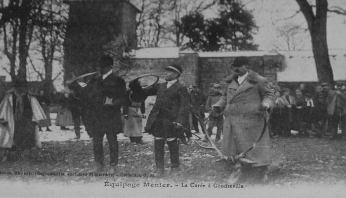 L'Equipage Menier - Collection A.-P. Baudesson - Don à la Société de Vènerie - 474