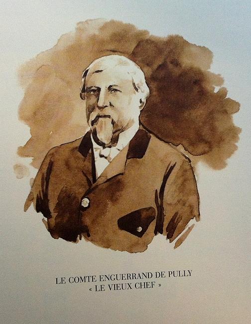 Le Vieux Chef - Illustration tirée de l'ouvrage La Vénerie française contemporaine (1914) - Le Goupy (Paris)