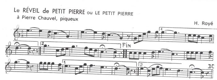 Le Réveil de Petit Pierre
