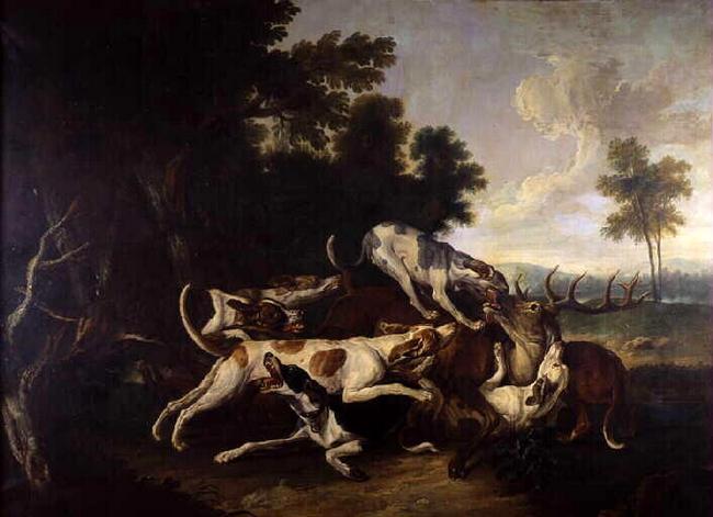 L'Hallali du cerf - 1721 - © Joconde - RMN - Pau, musée des beaux-arts - Patrick Ségura