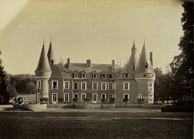 Maillebois (2) - Tiré de l'ouvrage L'Equipage du marquis de Chambray - Photos de Maurice de Gasté (1894) - Bnf (Gallica)