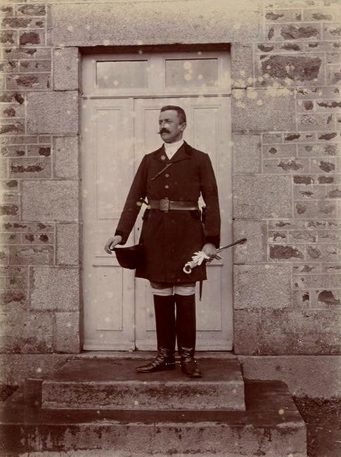 Le comte Henri de Chabannes - Tiré de l'ouvrage L'Equipage du marquis de Chambray - Photos de Maurice de Gasté (1894) - Bnf (Gallica)