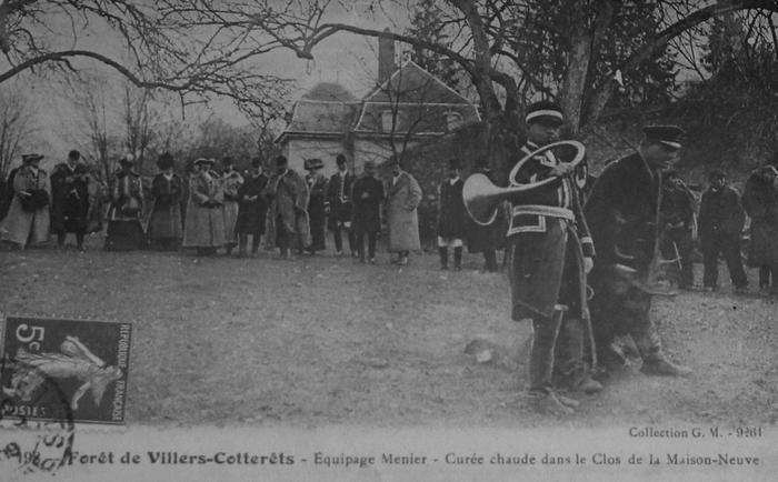 L'Equipage Menier - Collection A.-P. Baudesson - Don à la Société de Vènerie - 488
