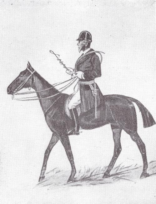 Anatole d'Autichamp - Tiré de l'ouvrage Deux Siècles de Vènerie à travers la France - H. Tremblot de la Croix et B. Tollu (1988)