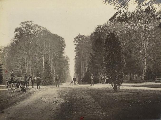 L'Etoile du Perche - Tiré de l'ouvrage L'Equipage du marquis de Chambray - Photos de Maurice de Gasté (1894) - Bnf (Gallica)