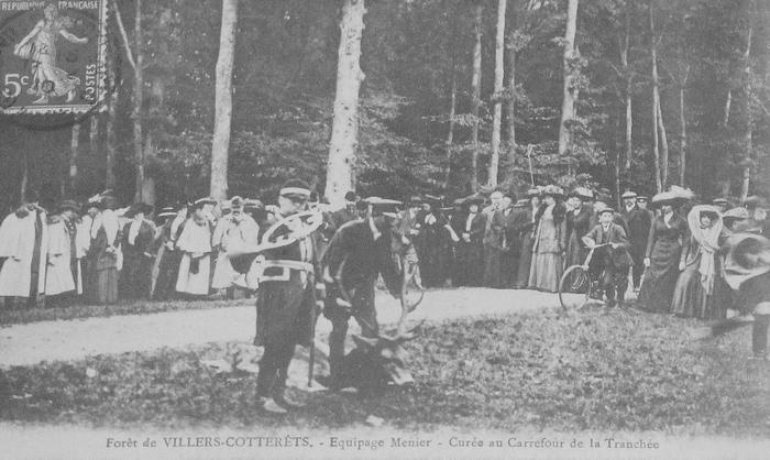 L'Equipage Menier - Collection A.-P. Baudesson - Don à la Société de Vènerie - 492