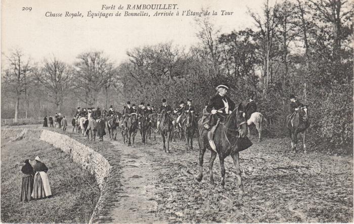 Equipage de Bonnelles Rambouillet (41)