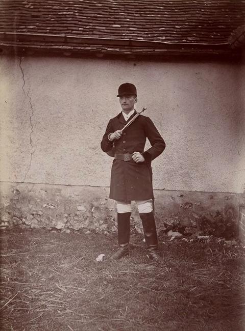 Le vicomte de Chambray (2) - Tiré de l'ouvrage L'Equipage du marquis de Chambray - Photos de Maurice de Gasté (1894) - Bnf (Gallica)