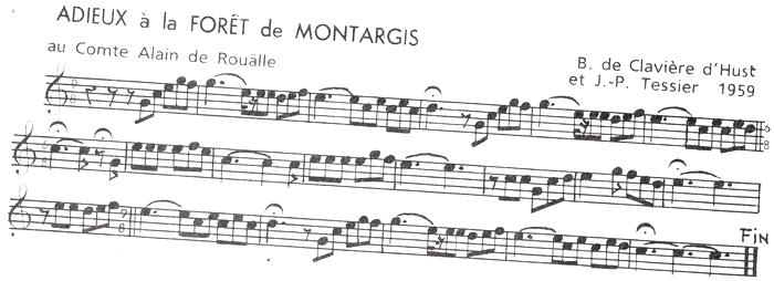 Les Adieux à la Forêts de Montargis ♫