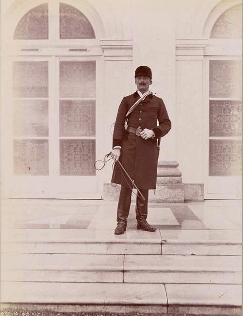 Le vicomte de Chambray - Tiré de l'ouvrage L'Equipage du marquis de Chambray - Photos de Maurice de Gasté (1894) - Bnf (Gallica)