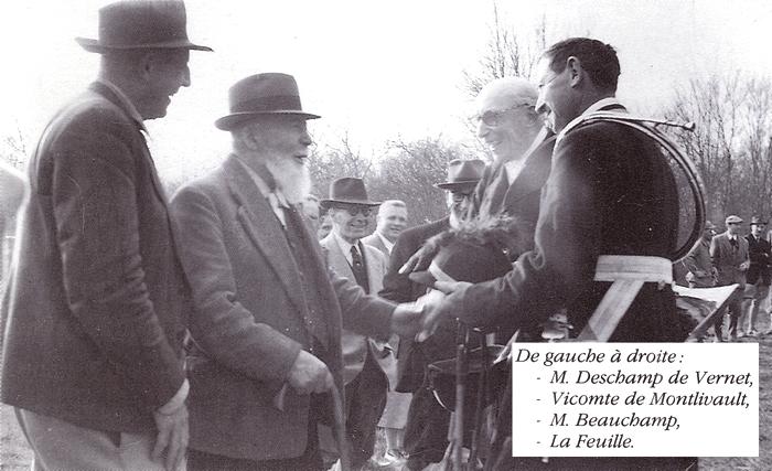 Rallie Bourbonnais - Tiré de l'ouvrage Deux Siècles de Vènerie à travers la France - H. Tremblot de la Croix et B. Tollu (1988)