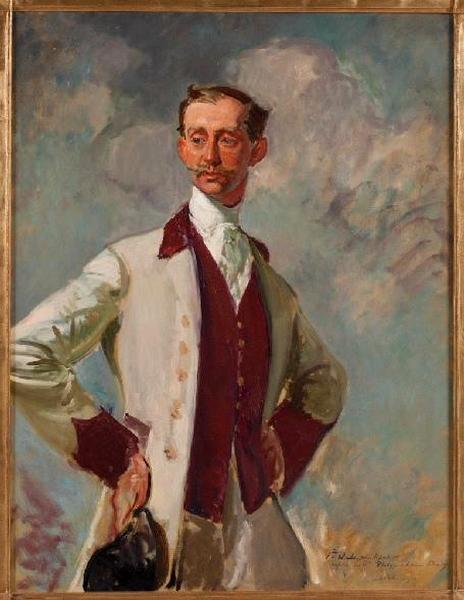 Etude pour le portrait du prince Philippe de Caraman-Chimay