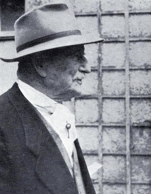 Julien Bost-Lamondie - Photo tirée du Bulletin de la Société de Vènerie